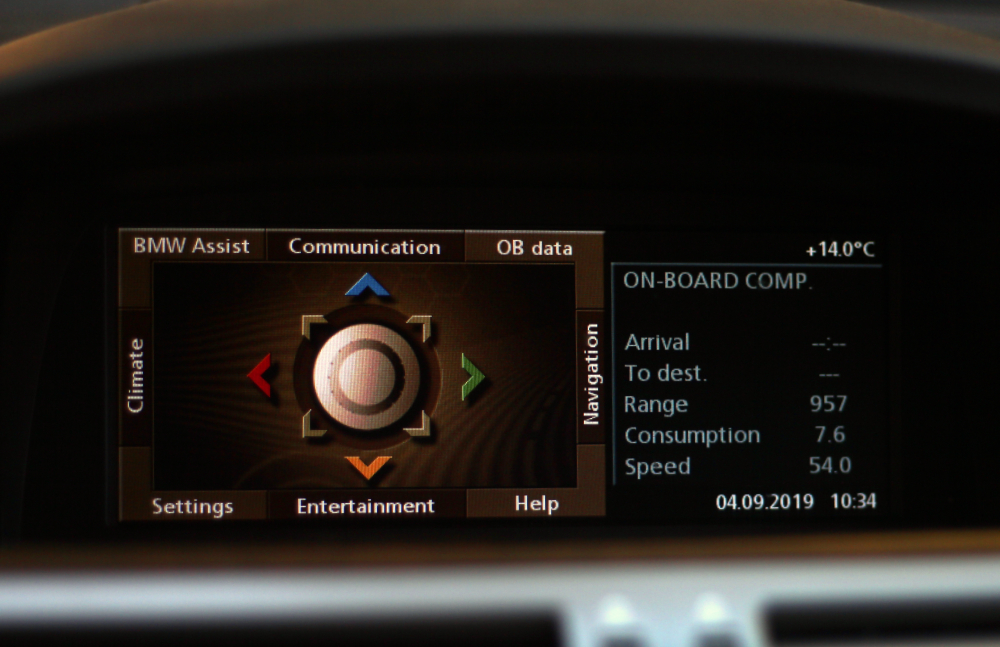 BMW E65 multimedia
